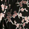 Plus Size Special Occasion Jacket Silk Pink Black Madam Butterfly Kimono