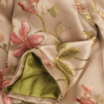 Plus Size Mother of Bride Coat French Embroidered Peach Beige