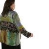 Special Occasion Beaded Jacket Green, Rose, Purple Artwear Size 30/32