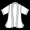 Plus Size Mother of Bride Kimono Jacket Artwear Celadon Beige
