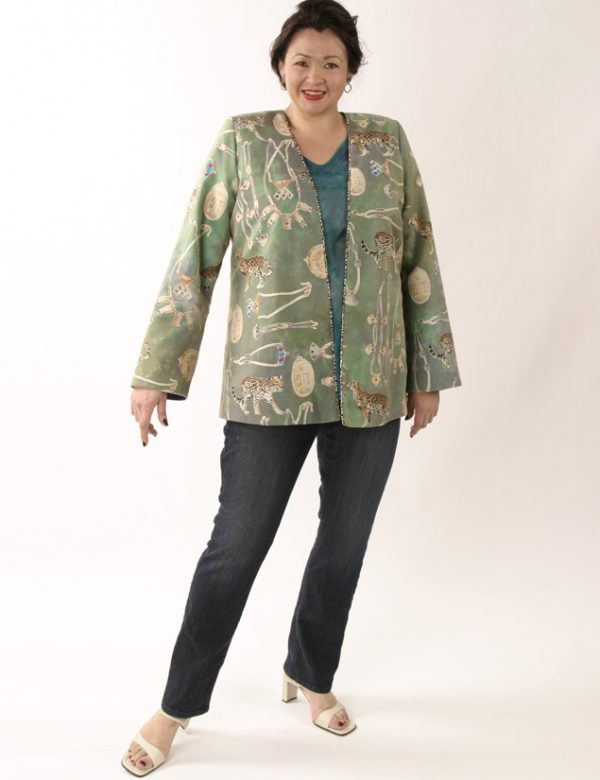 Plus Size Designer Jacket Coco Rainforest Beaded Baby Cheetah Gold Green Tealeans1__95184.jpg