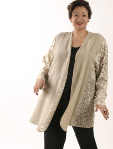 Daisy Jacket Wearable Art 1201 (Plus-Size)