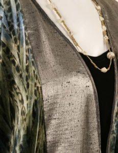 Daisy Jacket Wearable Art 1206 (Plus-Size)
