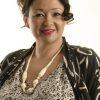 Plus Size Mother of Bride Drape Coat Italian Gray Ivory