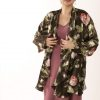 Plus Size Mother of Bride Silk Drape Jacket English Rose