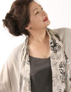 Drape Lapel Jacket Black/White/Silver Leaf (Plus-Size)