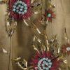 Plus Size Mother of Bride Gabi Jacket Beaded Lace Bronze