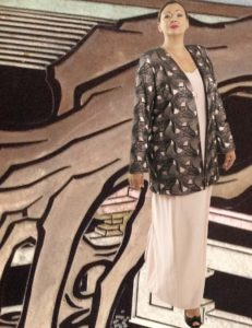 Plus Size Mother of Bride Jacket Beaded Openwork Pink Black