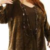 Plus Size Mother of Bride Jacket Dress Bronze Silk Velvet Burnout Sizes 22 - 32
