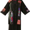 Plus Size Special Occasion Kimono Japan Cotton Red Black Gold Jade
