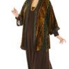 Dressy Kimono Jacket Volcano Silk Velvet Burnout Naturals Sizes 14/16, 18/20, 30/32