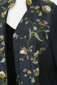Plus Size Special Occasion Mandarin Jacket Black Ivory Green Purple Embroidered Beaded Silk