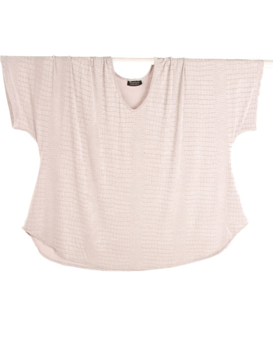 Shell Top White Embossed Aligator Slinky Sizes 30/32, 34/36