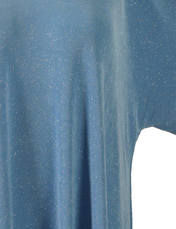 Shell Top Aqua Sparkle Slinky Sizes 26/28, 30/32, 34/36
