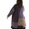 Boho Coat Artwear Purple Silver 22/24