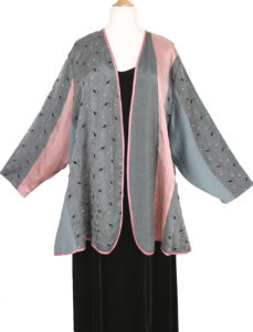 Plus Size Mother Bride Pink Gray Black Artwear Jacket Dress Custom Made Sizes 14 - 36