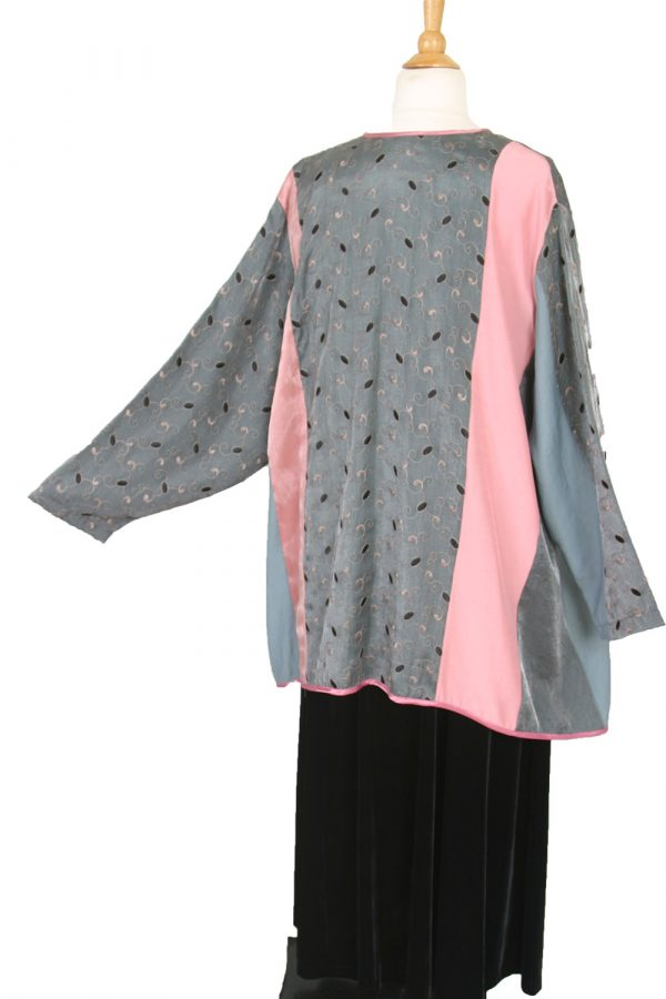 Plus Size Mother Bride Pink Gray Black Artwear Jacket Dress Custom Made Sizes 14 – 36