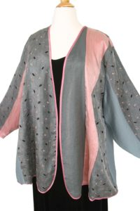 Plus Size Mother Bride Pink Gray Black Artwear Jacket Dress Custom Made Sizes 14 - 36