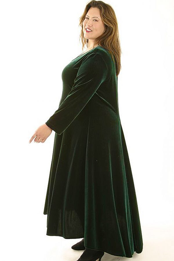 LongCurved DressForest6