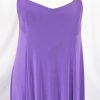 Plus Size Slip Dress Evening Gown Amethyst Slinky 14 - 36