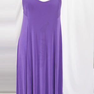 Plus Size Slip Dress Evening Gown Amethyst Slinky 12 – 36